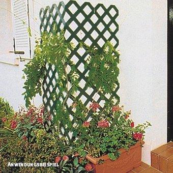 Videx-Rankgitter Spalier Coventry-Classic Kunststoff grün 60 x 120cm