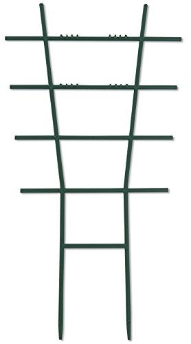 Windhager Blumenstütze Rankhilfe Gitterspalier Rankgitter Kunststoff gerade Grün 43 x 23 cm 05711