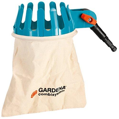 Gardena 3110-20 Obstpflücker Adapter für Combisystem Wackelfreie Verbindung Passend zu allen CS Stielen Gelenknippel verstellbar besteht aus Vollkunststoff
