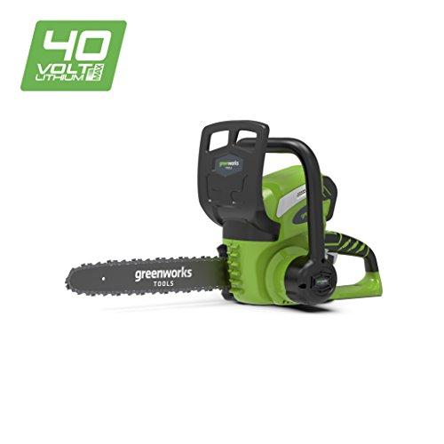 Greenworks 40V Akku-Kettensäge 30cm ohne Akku und Ladegerät - 20117