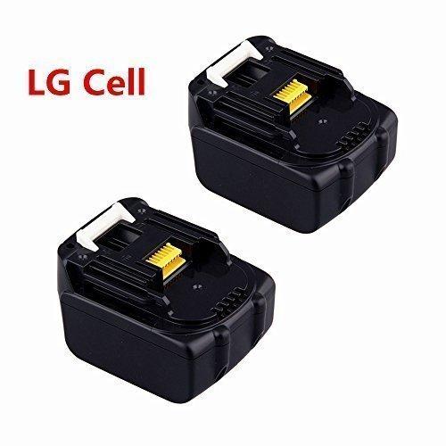 2X 144V 30Ah Werkzeug Akku für Makita BL1430 Batterie Lithium-Ion LG Zelle