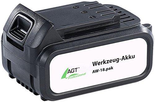 AGT Professional Zubehör zu Werkzeug Accu Li-Ion-Werkzeug-Akku AW-18pak 18 V4000 mAh Wechsel-Zubehör für Akuwerkzeug