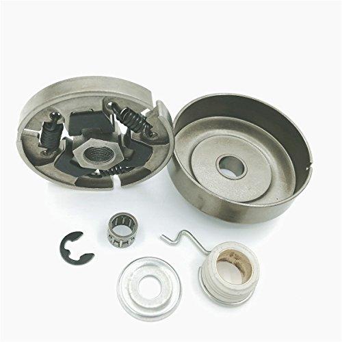Shioshen 325 7 t Kupplung Trommel Waschmaschine Clip Wurm-Zahnrad-Set für STIHL 025 023 021 MS250 MS230 MS210 Kettensäge 1123 160 20501123 640 2074