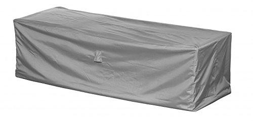 Loungesofa Abdeckung  Schutzhülle für Gartensofa - Premium 220 x 90 x 80 cm wasserdichte Abdeckplane für 3er Gartenmöbel  Oxford 600D Polyestergewebe  mit Ventilationsöffnungen