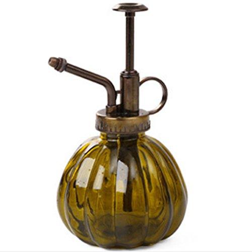 Qinlee Kleine Gießkanne Weinlese Kürbis Form Sprayflasche Gartenarbeit Werkzeuge Gießkanne Pflanzen Nährlösung Wasser Spray für Die Blumen Pflanzen Bonsai Blumensprüher