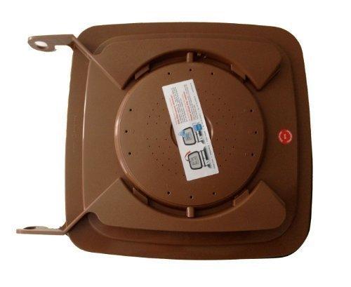 Bio-Filterdeckel für 120 l BiotonneMülltonne - Biotonnendeckel - Madendeckel 120140 Liter