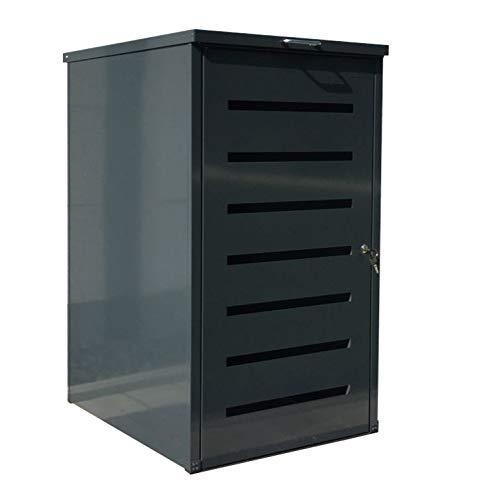 Easy Tailor Mülltonnenbox für 120 Liter Mülltonnen Anthrazit RAL 7016 1