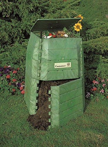 Hochwertiger Thermokomposter aus dickwandigem Kunststoff für Küchen- und Gartenabfälle – Umweltschutzpreis Gewinner – Made in Austria