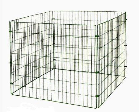 myGardenlust Gitter Komposter - Schnellkomposter aus Stahl mit Kunststoff - Thermokomposter mit Klappe - Kompostierer stabil und hochwertig - Composter für Garten-Abfälle Grün  660L