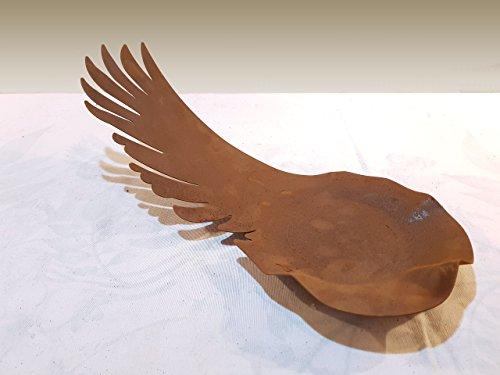 Schale - Engelsflügel Größe XL60cm - Wunderschöner Deko-Artikel zu verwenden als Grabschmuck an Allerheiligen oder als Weihnachts-Deko - Deko-Artikel von Manufakt-Design