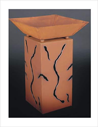 Jabo Design Rost Säule  Schale RS10  S03 Blumensäule Rostsäulen Rost Deko