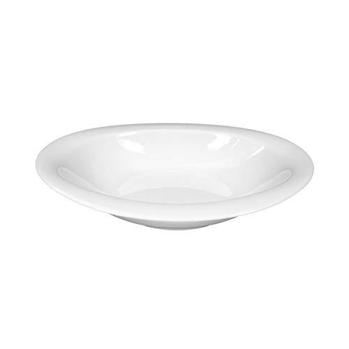 Seltmann Weiden Top Life Weiss Uni Schale oval nieder 21 cm  Suppenteller