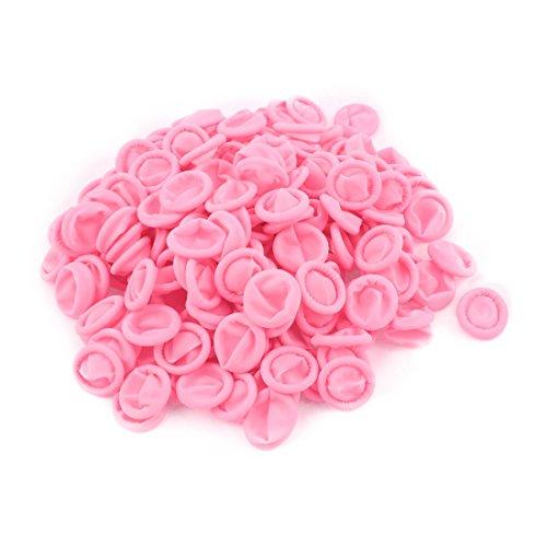 sourcing map 200stk Rosa Anti-Statik Gummi Latex Finger Kissen Einmal Finger Schutz DE