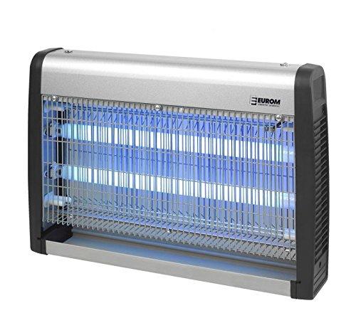 Eurom Insektenvernichter Insektenlampe mit UV-Licht 30W 2x 15W 100 m² Reichweite - Fly Away 30