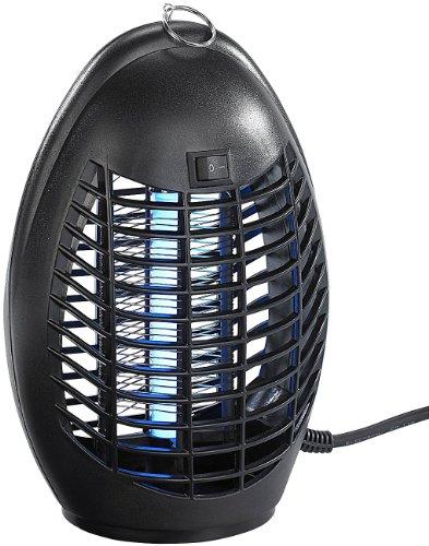 Exbuster Fliegenfalle Hochwirksamer UV-Insektenvernichter IV-220 mit UV-A-Stabröhre 4 Watt Fliegentöter
