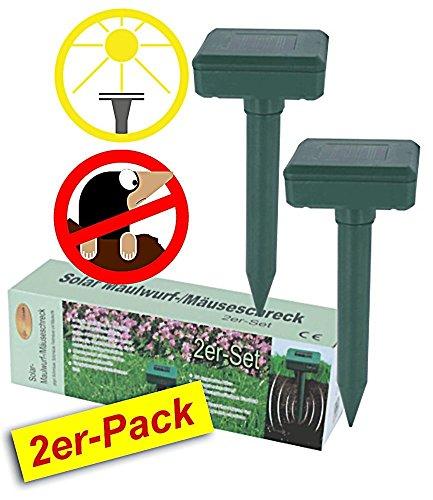 BALDUR-Garten GmbH SOLAR-Maulwurf- Mäuseschreck 2er-Pack zum Sparpreis