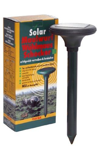 norax Solar MaulwurfWühlmaus Schocker - Maulwurfschreck
