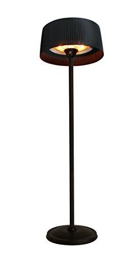 Sunred Standmodell 2100 W Halogen with LED schwarz 60 x 60 x 224 cm ARTIX SB BASIC