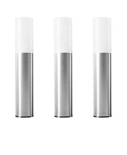 Osram Smart LED ZigBee Außen-Gartenleuchte Mini Erweiterung Warmweiß bis tageslicht dimmbar Schutzklasse P65 3 Spots Alexa kompatibel