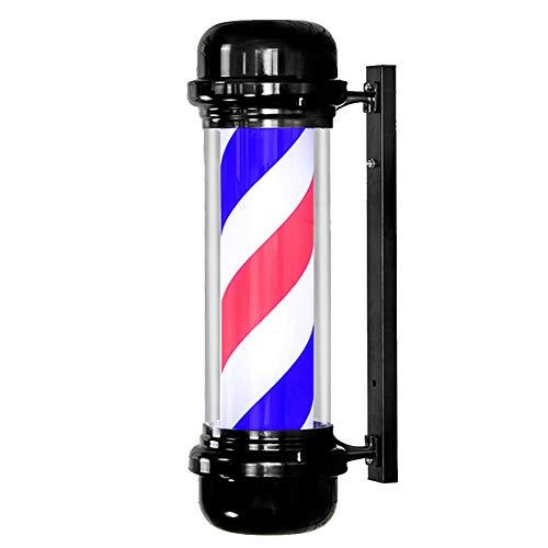 Barbierstab Barbershop LED Rotierendes Licht Retro PC Tube Weiß Rot Blau Im Freien Wasserdichte Zeichen Licht