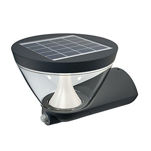 Osram LED Wand- und Deckenleuchte Leuchte für Außenanwendungen Warmweiß 2670 mm x 2130 mm x 1700 mm Endura Style Lantern Solar