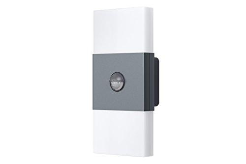 Osram LED Wandlampe Noxlite anthrazit Bewegungsmelder Dämmerungssensor Außenleuchte 6 Watt Kaltweiß 4008321960986