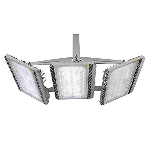 GOSUN Super Hell 300W LED Fluter Außenstrahler 27000Lumen 230V IP65 CREE SMD5050 Warmweiß 36 Monate Garantie