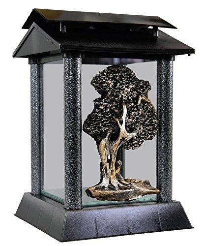 Gartenlicht Charlotte - Gartenlaterne aus Metall - 26cm - Japanisches Design