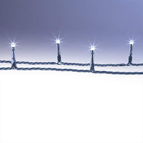 CLGarden LED Lichter Kette 40 Meter 400 LEDs Lichterkette kaltweiss