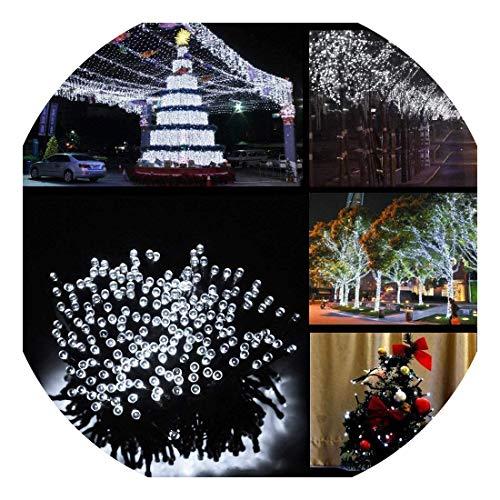 Solar Lichterkette LED Außen Warmweiß 22m 200LED 8 Modi Außenlichterkette Wasserdicht mit Lichtsensor Weihnachtsbeleuchtung Beleuchtung für Weihnachten Energieklasse A 200 LED kaltweiß
