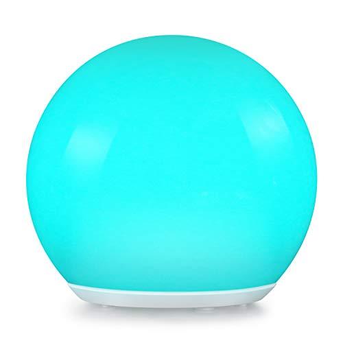 Albrillo RGB Solarlampe Garten - LED Solar Kugel mit Fernbedienung Durchmesser 30cm mit 12 Farben USB Aufladbar Kugellampe Wasserdicht IP68 für Outdoor
