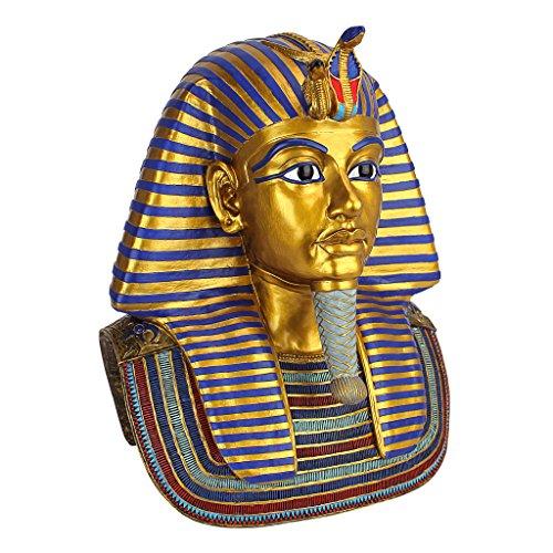 Design Toscano Die goldene Maske des Tutenchamun Skulptur Groß