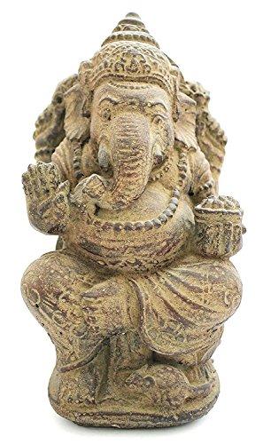Wohnkult Ganesha 30 cm aus Stein Feng Shui Statue Dekofigur Skulptur Dekoration