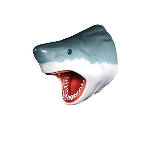 Design Toscano Der Große Weiße Hai Trophäenskulptur für die Wand