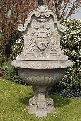 Brunnen Gartenbrunnen Zierbrunnen fountain H 185 Farbe sandstein