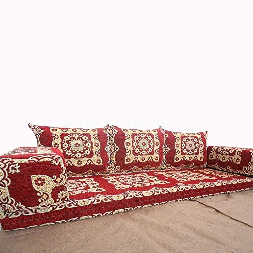 Spirit Home Interiors Bodensessel  Boden Sitz Sofa  Boden Couch  Ecksofa  Eckcouch  Schlafsofa  Orientalische sitzecke  Arabische Majlis