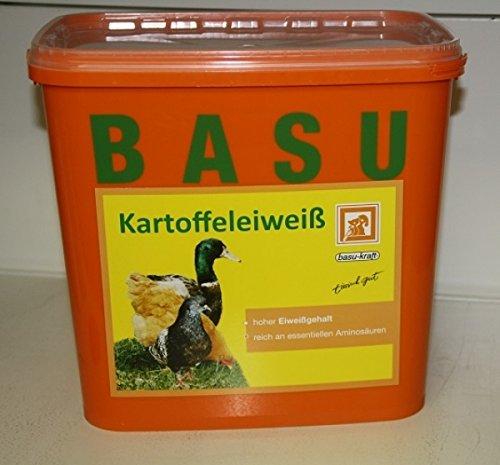BASU Kartoffeleiweiß Kartoffel-Eiweiß Einzel-Futtermittel Zusatz-Futter 6 kg
