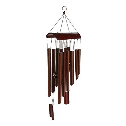 Sharplace Bambus Windspiel Klangspiel Wind Glockenspiel Hängen Windspiel Wind Chimes Dekoration - 02