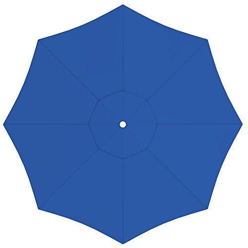 paramondo Sonnenschirm Bespannung ink Air Vent für interpara Sonnenschirm 35mrund blau