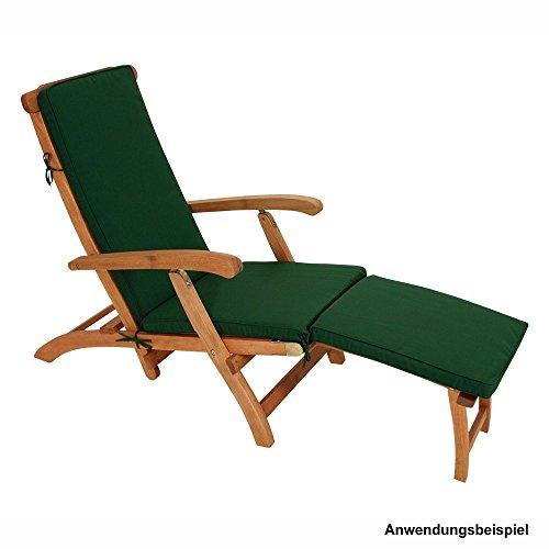 Auflage Denver für Deckchair 176x48x5cm Liegenauflage Polsterauflage Liegekissen