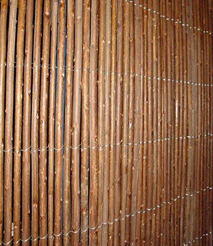 Sichtschutzmatte aus Weide 1x3m1 Stück