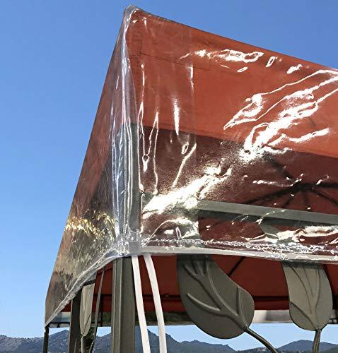 Quick-Star Pavillon Schutzhaube 3x4 m Wasserdicht Transparent