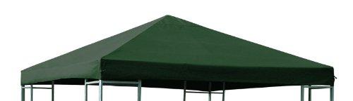Ersatzdach für Pavillon 3x3 Meter dunkelgrün wasserdicht