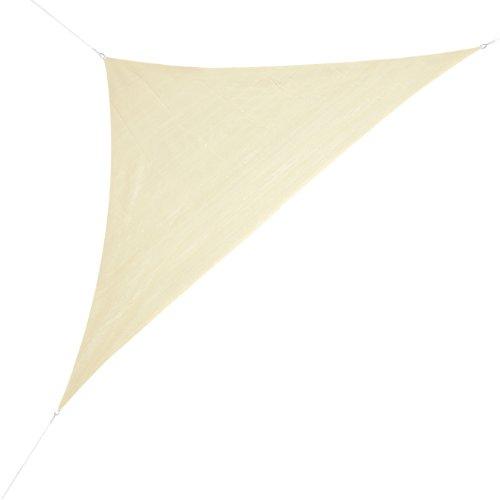 Corasol COR10RA5-SB Premium Sonnensegel 5 x 5 x 7 m 90 Grad Dreieck sandbeige