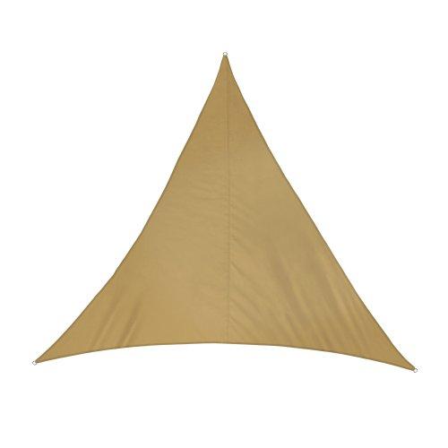 Jarolift Sonnensegel Dreieck wasserabweisend 300 x 300 x 300 cm sand