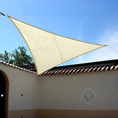 LUXUS Sonnensegel 300m dreieck Creme der Extraklasse von Dekowelten
