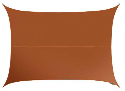 Kookaburra Wasserfest Sonnensegel 40m x 30m Rechteck Terrakotta