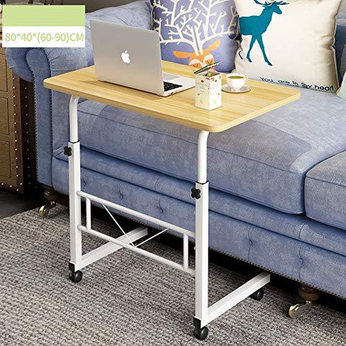 WETERS Sofa Beistelltisch tragbaren Laptop-Schreibtisch Schreibtisch können Mobile Schreiben faul Tisch HebenNiamey