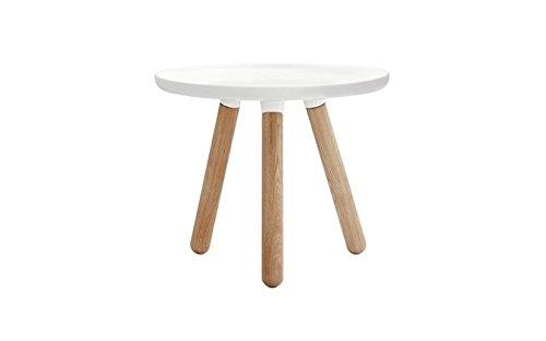 Normann Copenhagen - Tablo Table - Beistelltisch - klein - weiß - Ø 50 cm - Höhe 42 cm
