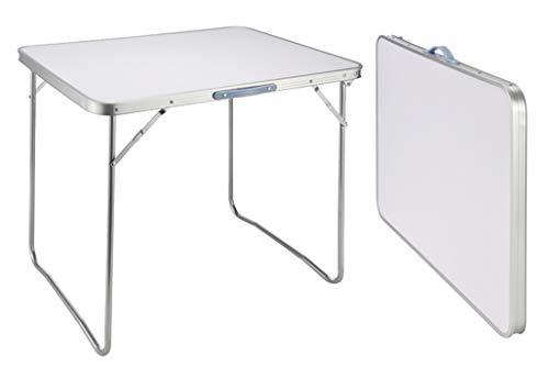 Campingtisch Bistro Tisch klappbar 60x80x68 Tragegriff Falttisch